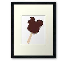 Mickey Ice Cream Bar Framed Print