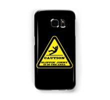Caution... Slippin' Jimmy Samsung Galaxy Case/Skin