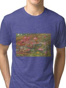 Water Lily Magic Tri-blend T-Shirt