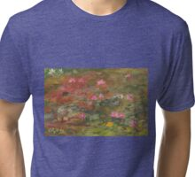 Water Lily Magic Tri-blend T-Shirt