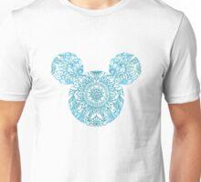 Blue Mickey Head Unisex T-Shirt