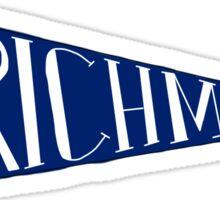 Richmond, Va Penant Sticker