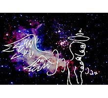 Eldritch Angel Photographic Print
