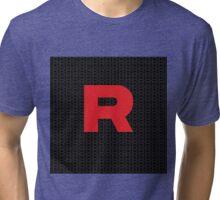 Team Rocker Logo Pokemon Art Kanto Original Tri-blend T-Shirt