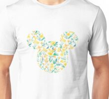 Floral Mickey Head Unisex T-Shirt