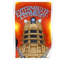 EXTERMINATE! Poster