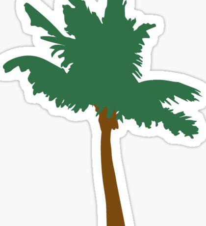 palm vector outline Sticker