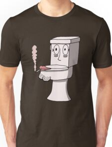 Post Toilet Stress Disorder - No Text Unisex T-Shirt