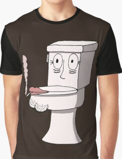 Post Toilet Stress Disorder - No Text Graphic T-Shirt