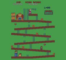Donkey Kong Arcade One Piece - Short Sleeve