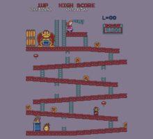 Donkey Kong Arcade Kids Tee