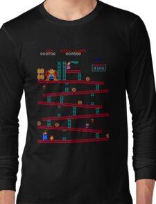 Donkey Kong Arcade Long Sleeve T-Shirt