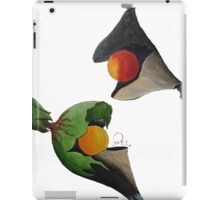 Pint Size Planet (Fire and Life) iPad Case/Skin