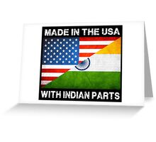 Funny Shirt for Indians Greeting Card