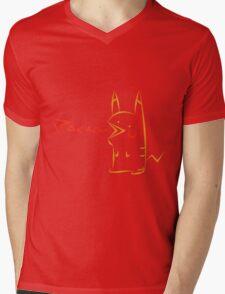 Pacachu Mens V-Neck T-Shirt