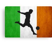 Irish Soccer Canvas Print