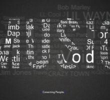 BEAUTIFUL INSPIRATIONAL MUSIC POEM Sticker