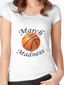 March Madness Women's Fitted Scoop T-Shirt