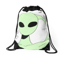 ALIEN 001 Drawstring Bag