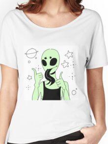 ALIEN 002 Women's Relaxed Fit T-Shirt