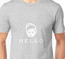 Hellooooo!!!! Mrs. Doubtfire mask Unisex T-Shirt