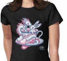 The Dragon and the Rabbit Womens Fitted T-Shirt