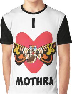 I <3 Mothra Graphic T-Shirt