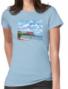 Sunrise City Womens Fitted T-Shirt