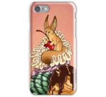 Fennec Ice Cream Sundae iPhone Case/Skin