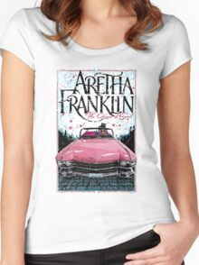 Aretha Franklin. The Queen of Soul Women's Fitted Scoop T-Shirt