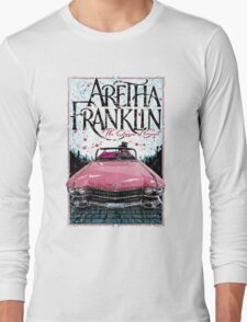 Aretha Franklin. The Queen of Soul Long Sleeve T-Shirt