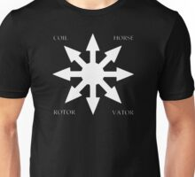 Coil - Horse Rotorvator Chaos T-Shirt Unisex T-Shirt