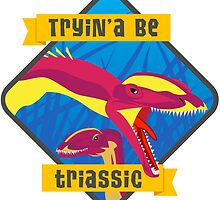 Triassic Lophostropheus by Jamie Parks