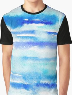Watercolor sea Graphic T-Shirt