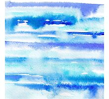 Watercolor sea Photographic Print