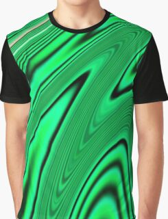 Abstract Fractal Colorways 03 Malalchite  Graphic T-Shirt