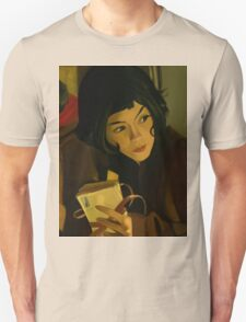 Amélie Poulain and the Letters Unisex T-Shirt