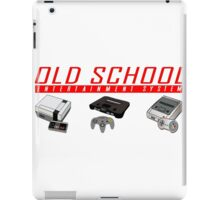 Old School System Entertainment iPad Case/Skin