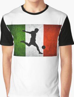Italian Soccer Graphic T-Shirt