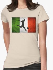 Italian Soccer Womens Fitted T-Shirt