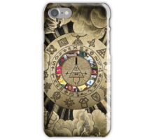 Gravity Falls Bill Cipher Wheel (2) Gamer/Gaming/Game Gift iPhone Case/Skin