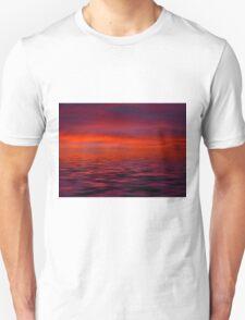 Pink Ocean Unisex T-Shirt
