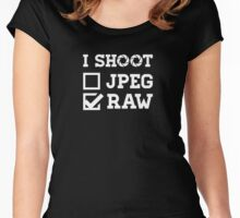 I Shoot? - Photography Women's Fitted Scoop T-Shirt