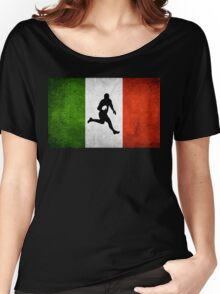 Italian Rugby Women's Relaxed Fit T-Shirt