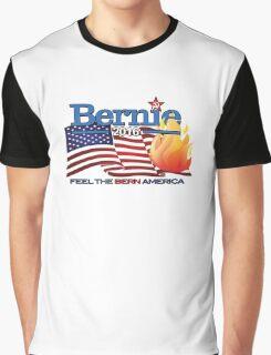 BERNIE 2016  -   Feel The Bern America! Graphic T-Shirt