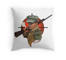 MacCready's Gun For Hire Throw Pillow
