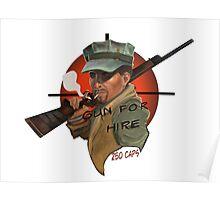 MacCready's Gun For Hire Poster