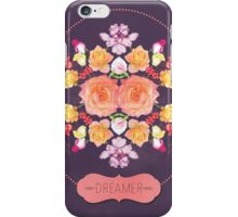 Dreamer Floral iPhone Case/Skin