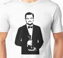 Leonardo DiCaprio Oscar 2016 Unisex T-Shirt