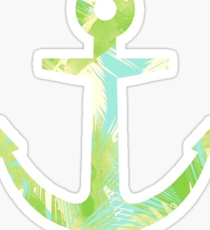 Anchor Palms Sticker